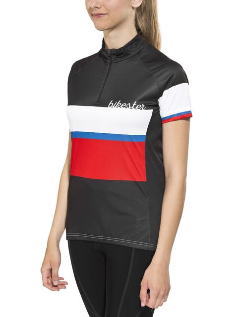 Bikester Basic Team Kortærmet cykeltrøje Damer sort